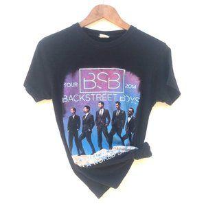 Backstreet Boys 2014 Tour Graphic T-Shirt Small
